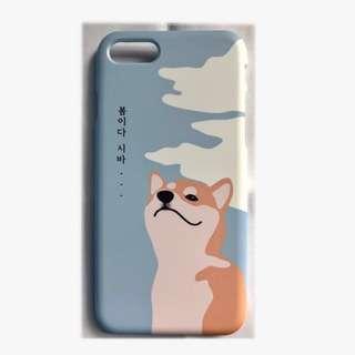 韓國 柴犬iPhone 7 電話殼