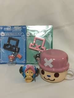 one piece keychain and mug bundle