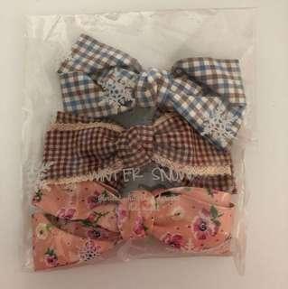 Hair bow tie