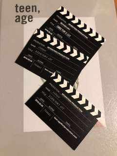 Seventeen directors cut business cards