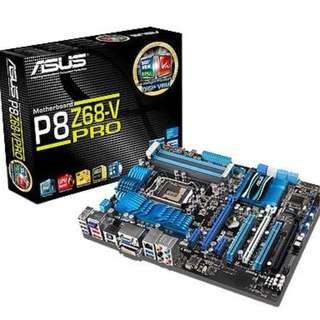 ASUS MotherBoard + Intel CPU