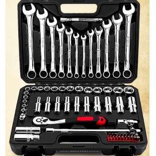 Brand New 69 & 94 Pcs Professional Car Ratchet Wrench Tools Set