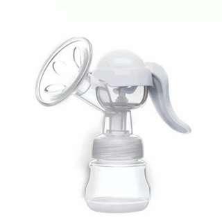 Manual Breast Pump - WHITE