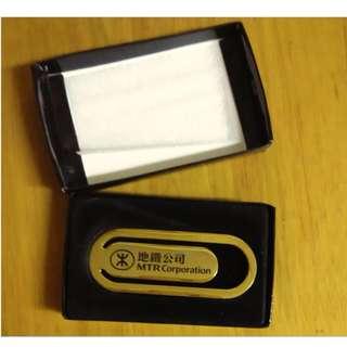 MTR **金屬書簽** 地鐵書簽 - 連原裝盒 - 絕版 MTR 地鐵公司