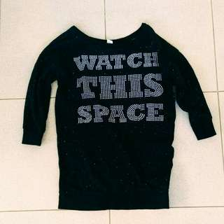 Watch this space h&m sweater