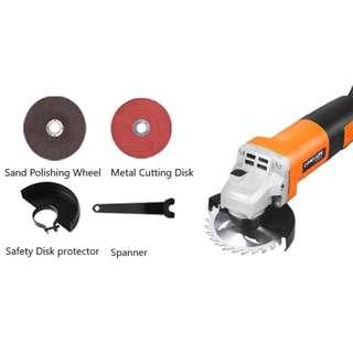 Professional Multi-purpose Electric Angle Grinder, Car Polishing Tool