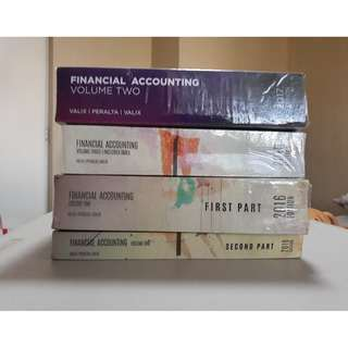 FINANCIAL ACCOUNTING Volumes 1, 2 & 3 (Valix)