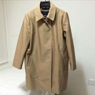 Zara brown coat spring summer brand new sale