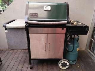 Weber Genesis Silver BBQ