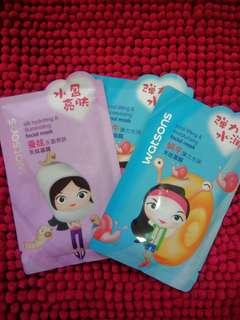 Watsons Face Mask (3 FOR 130)