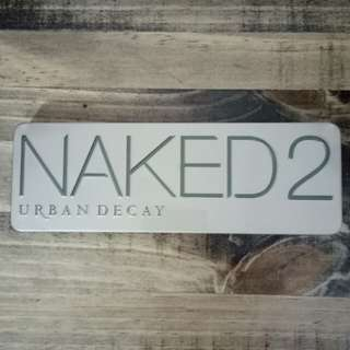 Urban Decay Naked 2 Palette w/ Brush