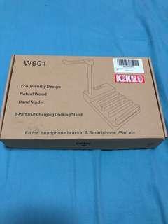 全新 Kekilo 3-Port USB Charging Docking Stand