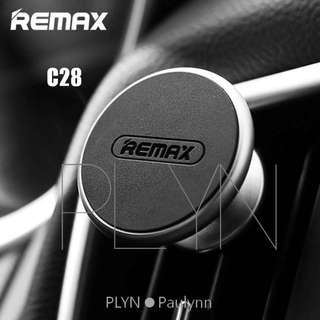 Remax RM C28 Air Vent Magnetic Car Phone Holder Uber Grab