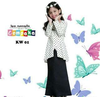 PEPLUM SET KIDS