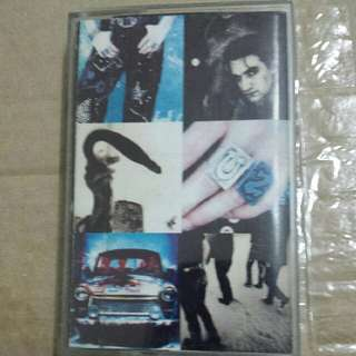 Music Cassette Tape: U2 ‎– Achtung Baby