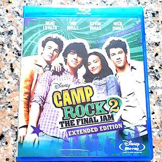 Camp Rock 2 ( blu ray )