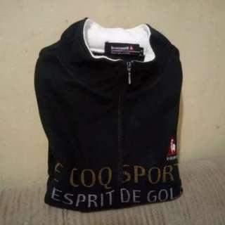 Sweater Golf Le Coq Sports Turtleneck Pria not Hoodie Jaket