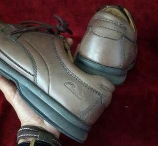 Clarks Men Active Air Brown Shoe