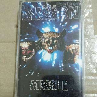 Music Cassette Tape: The Mission ‎– Masque