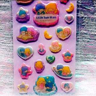 Sanrio 2004 絕版罕有 Little Twin Stars 貼紙