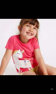 PO unicorn TOP Brand New Size 80-120cm for 1-5yrs old