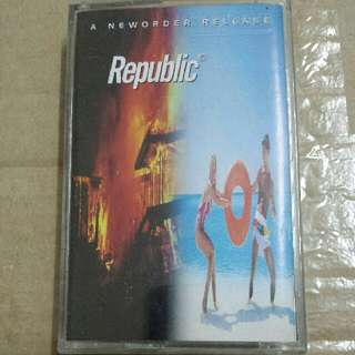 Music Cassette Tape: New Order - Republic