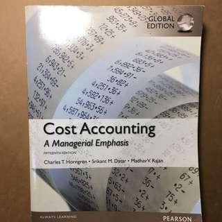 成本會計學 cost accounting