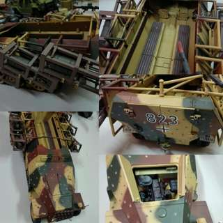 Scale 1:18 Bbi WW2 vehicle not gi joe