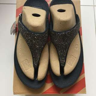 Authentic Fitflop Slinky Rokkit Toe-post (Supernavy)