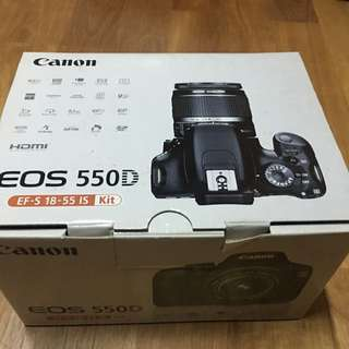 🚚 Canon550d