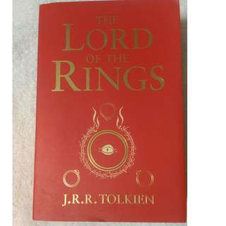 Lord of The Ring 3 in 1 book