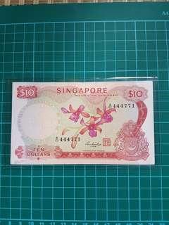 Orchid 🌸 $10 🇸🇬 HSS  B/64 444771