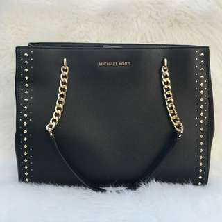 Michael Kors Ellis Large in Black
