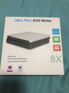 全新 Ultra Thin DVD Writer