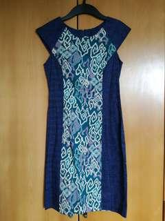 Batik-printed Dress