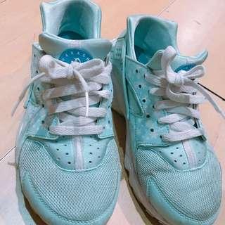 🚚 NIKE 武士鞋 7y 25號 40號 藍色 冰雪奇緣限定款