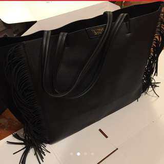 Authentic Victoria secret tote bag (with tassel)