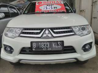 pajero sport exceed at 2014