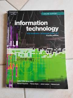 Information Technology VCE Units 1&2 Textbook