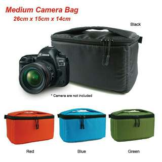 *FREE DELIVERY to WM only / Ready stock* Water resistant camera bag each as shown design/color except blue. Free delivery is applied for this item.