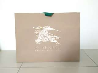Burberry Big Paper bag