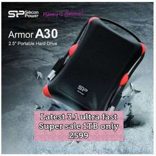1TB silicon power shockproof