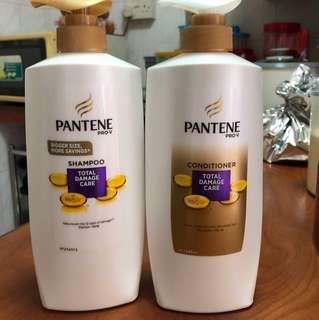 Pantene Shampoo and Conditioner Set