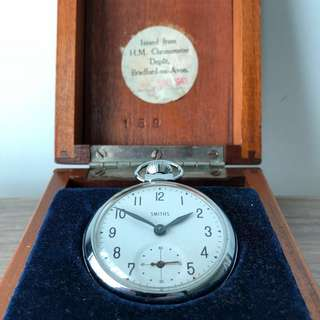 Smiths 1940s Deck Officer's Pocket Watch