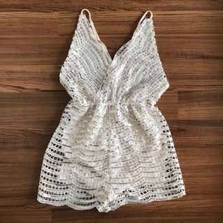 Brand new sequin romper