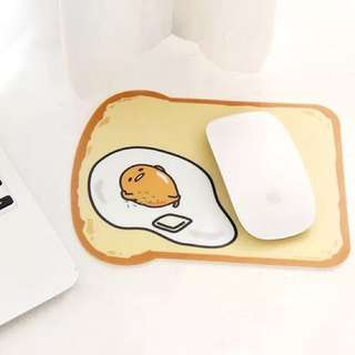小熊世界~sanrio韓國正品蛋黃哥滑鼠墊 吐司款