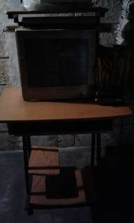 NTC Computer Monitor and Computer Table
