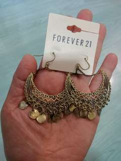 Forever 21古典耳環