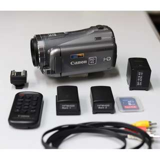 Canon LEGRIA HFM400 complete HD Camcorder system #1