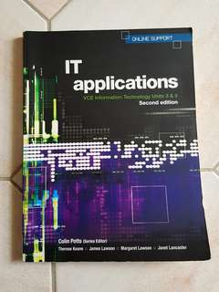 Information Technology VCE Units 3&4 Textbook